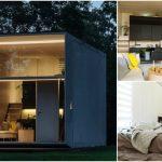 Estonian Design Team Built KODA: A Moveable Concrete Tiny House
