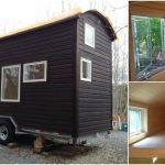 Nova Scotia Tiny House Builders Design 24ft Wooden Masterpiece