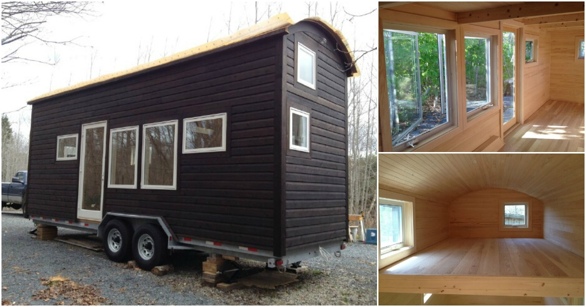 Nova Scotia Tiny House Builders Design 24ft Wooden