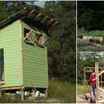 Couple Builds Tiny House Using Recycled Materials and only $420