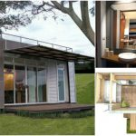 Beautifully Upcycled Shipping Container Tiny House by Cubica Architects