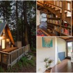 Mythical A-Frame Tiny House Waits for You in the California Woods