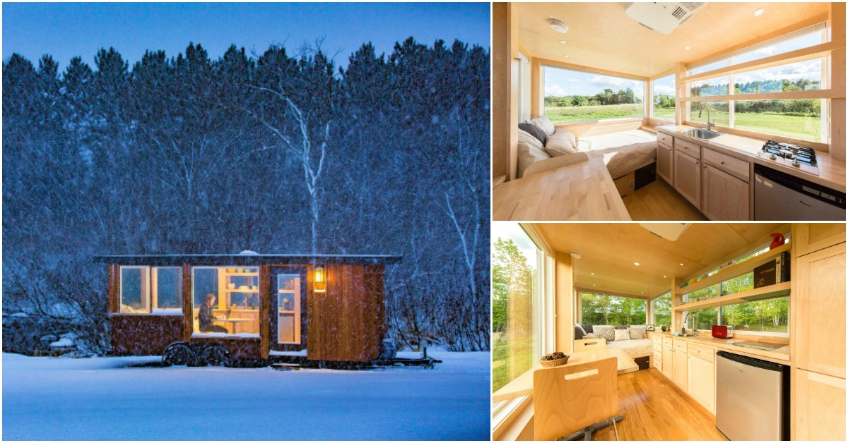 Escape Vista Tiny Homes Are The World's Most Beautiful