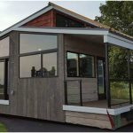 Luxurious & Modern 400sf Tiny Home in Wisconsin by Utopian Villas