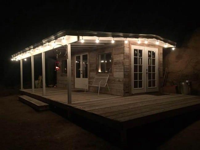 Arizona Couple Turns Dumpster into Tiny Vacation Home Tiny Houses