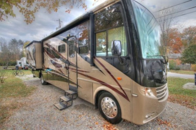 Adventurous Family of Three Sell Home to Live in an RV