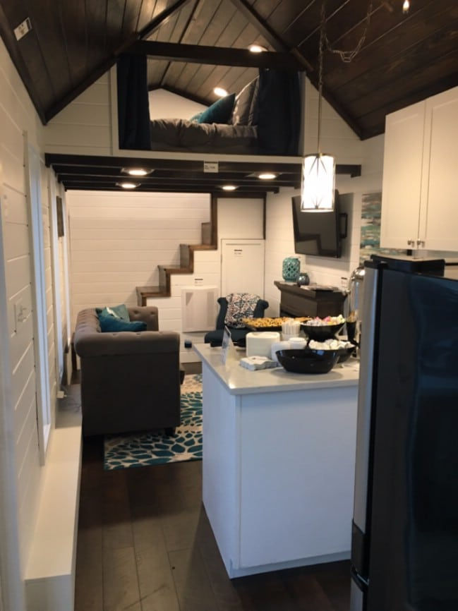 Alabama Builder Gives Fresh Take Tiny House Movement Trinity Model on 16x40 Cabin Floor Plans As Well Deluxe Lofted Barn