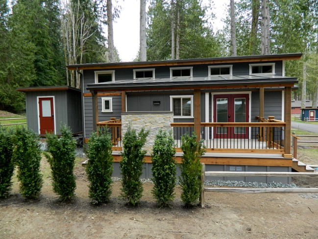 Take a look at this luxury tiny house by west coast homes for West coast home plans