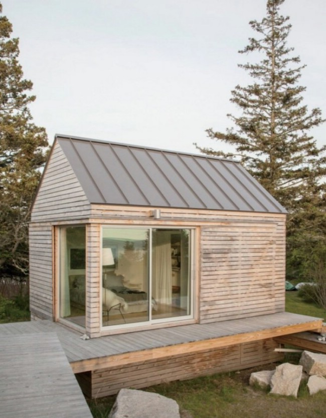 Go Logic Designs Breathtaking Trio of Modern Tiny Houses in Maine