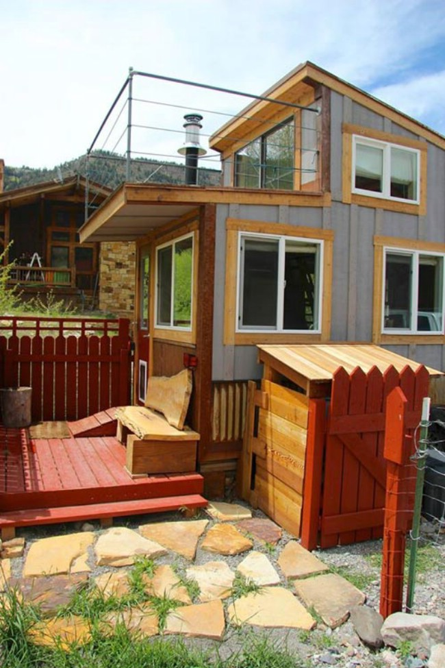 Colorado Man Builds And Sells His First 270sf Tiny Home