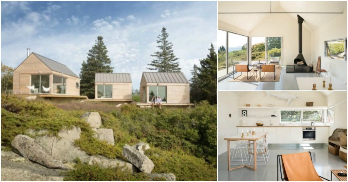 Trio House 28 Images Trio Of Prefab Timber Cabins Form