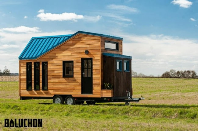 French Tiny House Builders Give Traveler An Upgraded Home