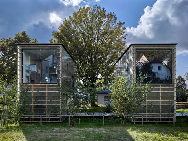 Working couple reach zen with innovative tiny house design for Innovative home plans