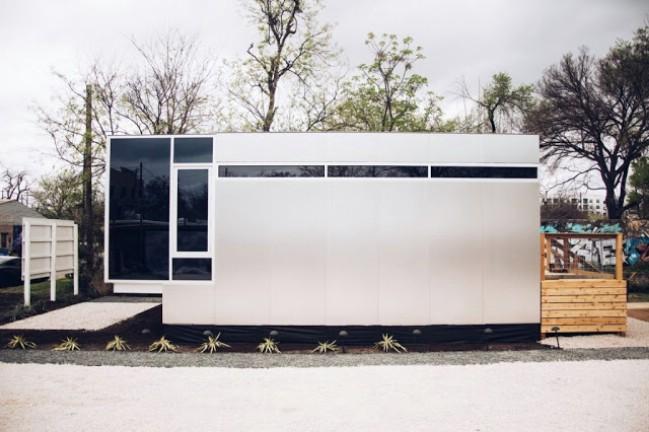 Minimalistic and Sleek Stackable Tiny Houses