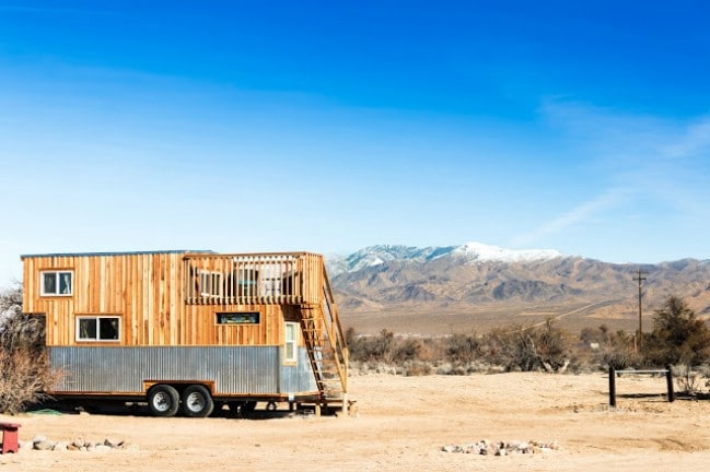 Check Out this HGTV-Featured Tiny House, The Peacock by Old Hippie Woodworking and Designs