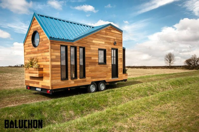 essenciel tiny house by baluchon - Tiny Houses Builders 2