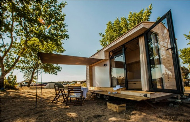 Bulgarian Couple Come Up with Unique Tiny House Concept - Tiny Houses