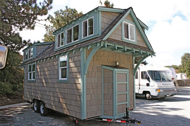 tranquil two bedroom tiny house from california builders - Tiny Houses California 2