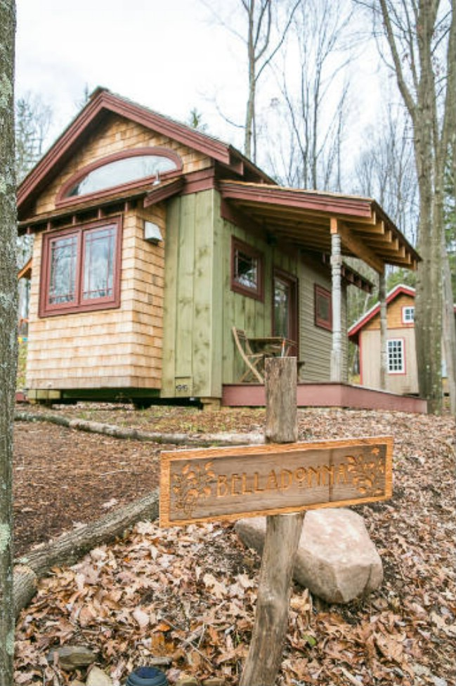 Book Your Favorite Tiny Cabin at Blue Moon Rising in Maryland