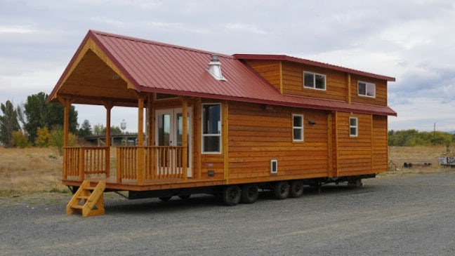 Spread Out In The Double Lofted Tiny House By Rich S