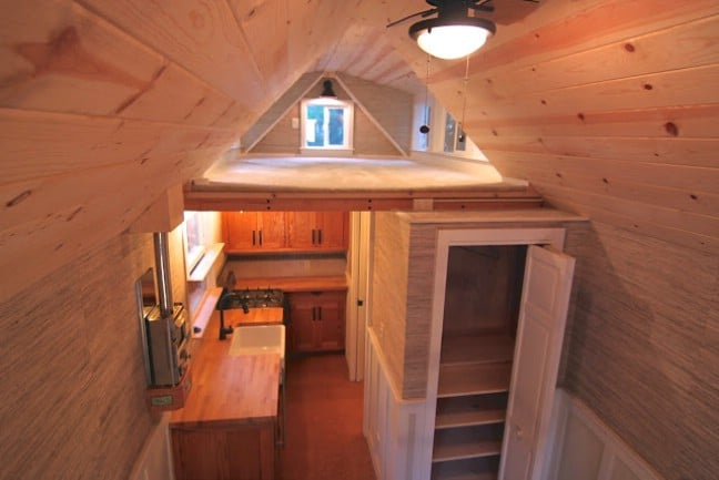 Tranquil Two Bedroom Tiny House from California Builders