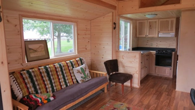 Tiny House With Pull Outs