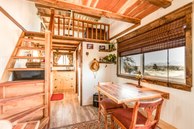 Check Out This HGTV Featured Tiny House The Peacock By Old Hippie Woodworking And