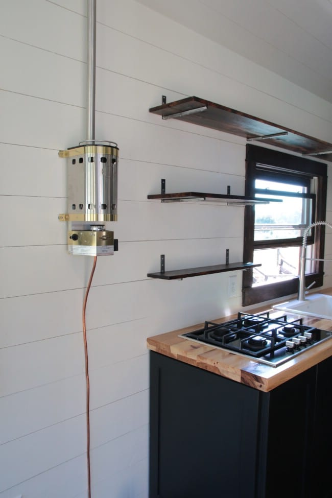 tiny house heater. The Cooktop Is Gas-powered And That Power Supplied Through This Surprisingly Attractive Heater. If You Thought Something Serves Such A Mundane Tiny House Heater R