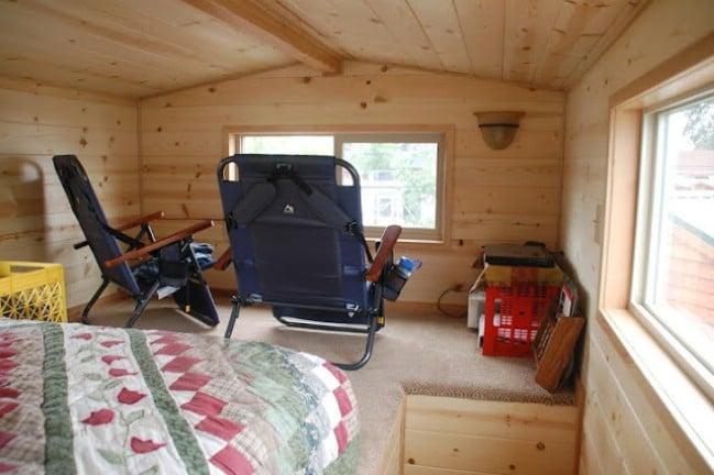 Cozy 232 Sf North Carolina Loft By Rich S Portable Cabins