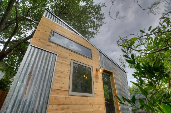 Austin TX Woman Designs Funky Tiny House to Rent Out Tiny Houses