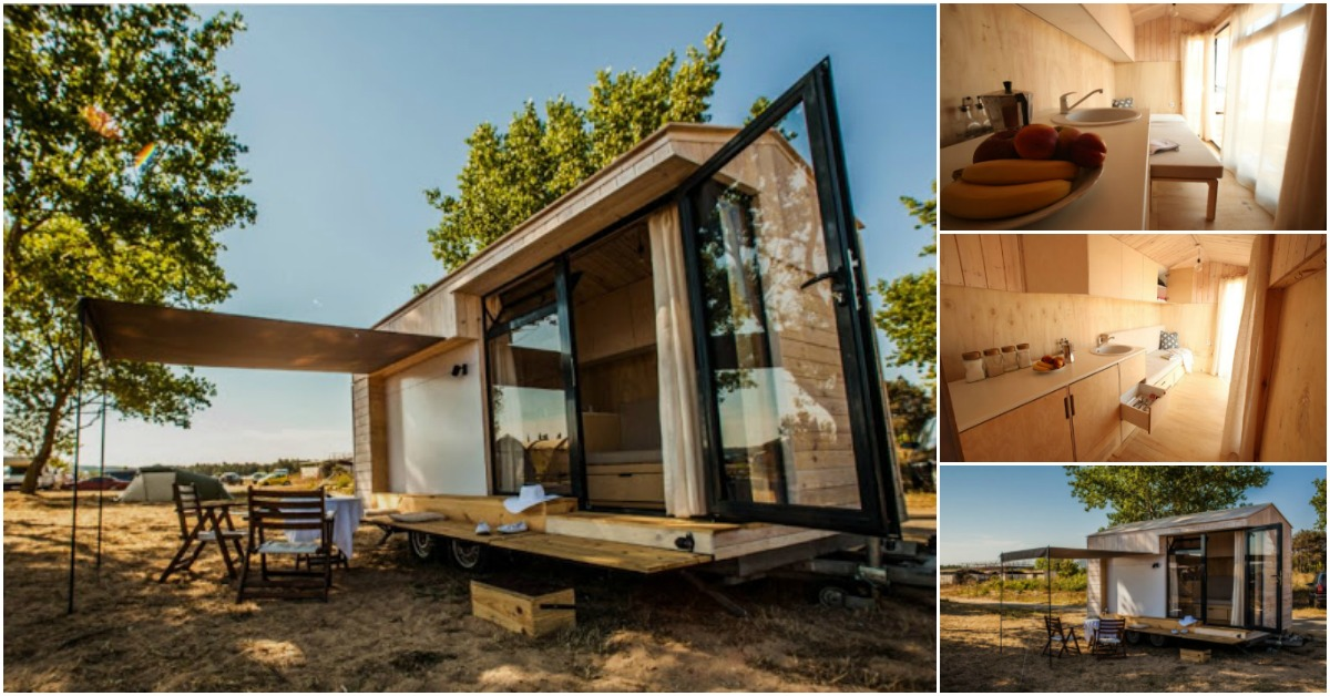 bulgarian couple come up with unique tiny house concept tiny houses. Black Bedroom Furniture Sets. Home Design Ideas