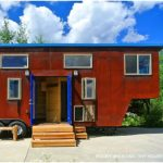 Real Estate Agent Builds Dream Tiny House on Gooseneck Chassis