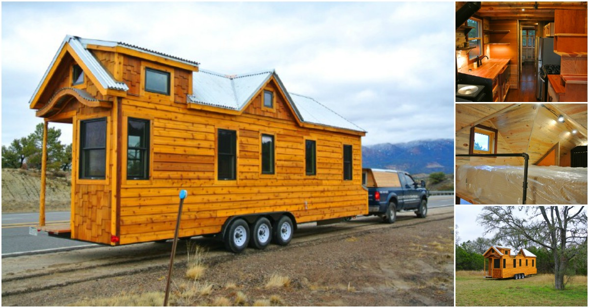 Tiny Home Designs: Gingerbread Tiny House By Rocky Mountain Tiny Houses