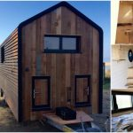 "Wooden Beauty the ""Huttopie"" from French Tiny House Builder"