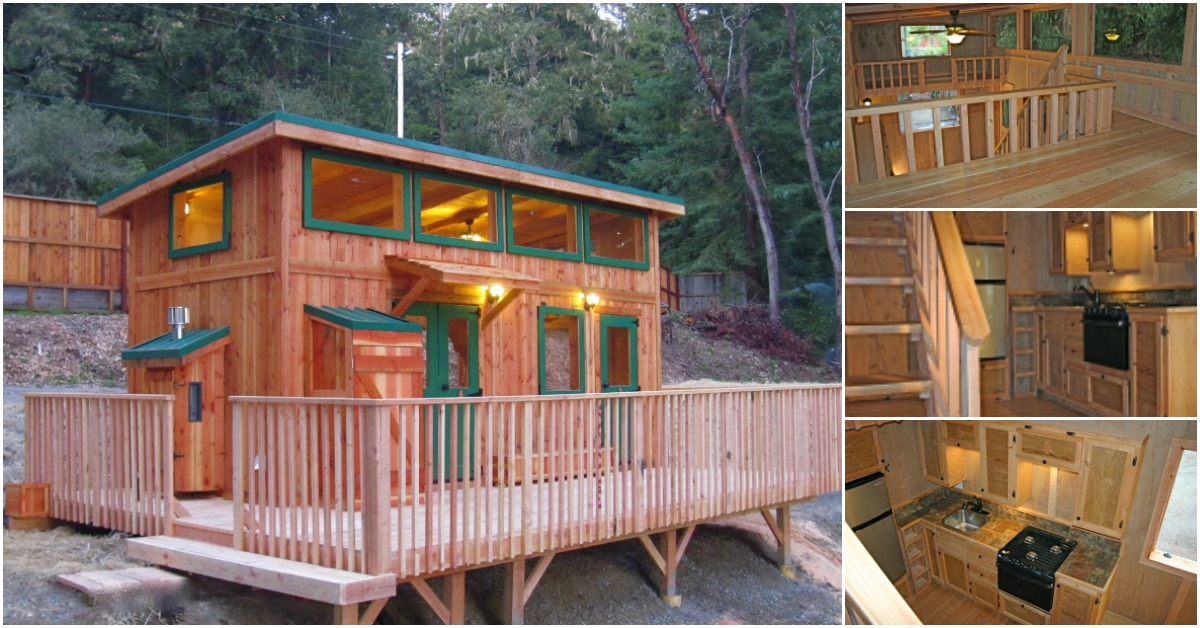 Check out the deck on the hunter green cabin by molecule - The home hunter ...