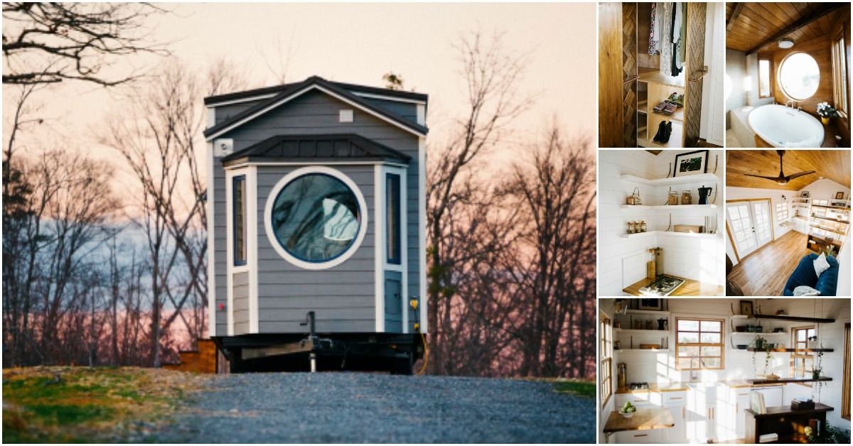 Wind river s monocle tiny house is a dream family home 24 for Wind river custom homes