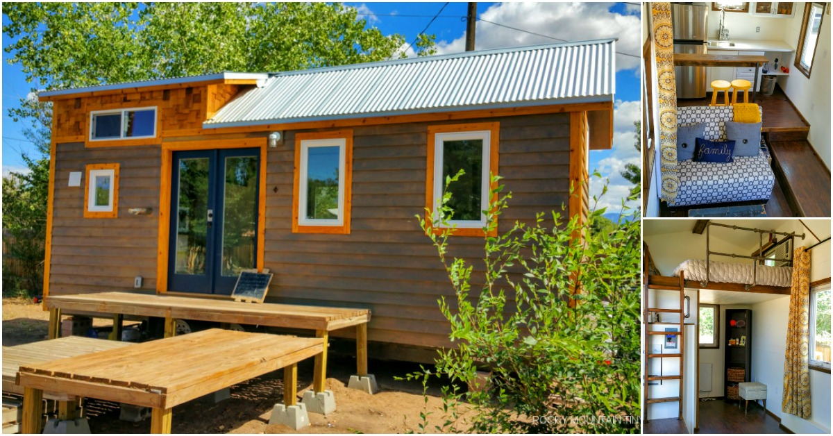 Newlyweds design tiny house for their new love nest tiny for Nest home design