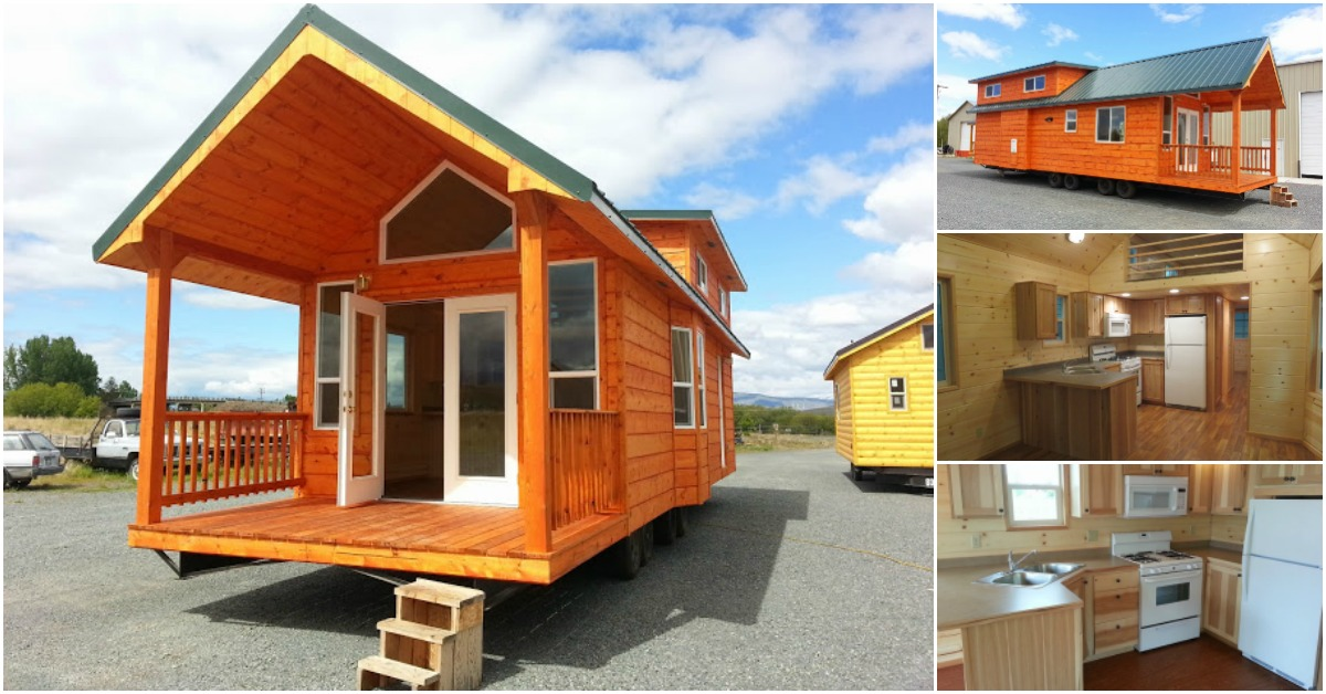The Pacific Loft From Rich S Portable Cabins Is A Cozy