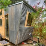Austin, TX Woman Designs Funky Tiny House to Rent Out