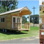Rich's Portable Cabins Designs Tiny House with Pull-Outs