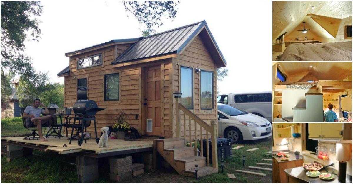 Colorado builder uses sips to build durable tiny house for Tiny house company colorado