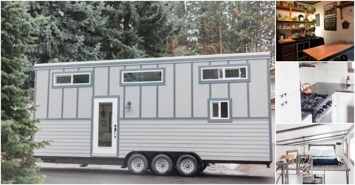 Tiny House Made With Sips Available For Sale In Spokane