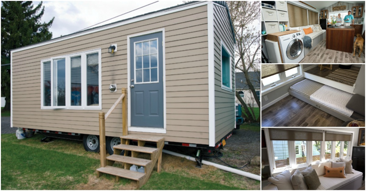 Tiny Home Designs: Take A Look Inside The One Bedroom 210 Square Foot