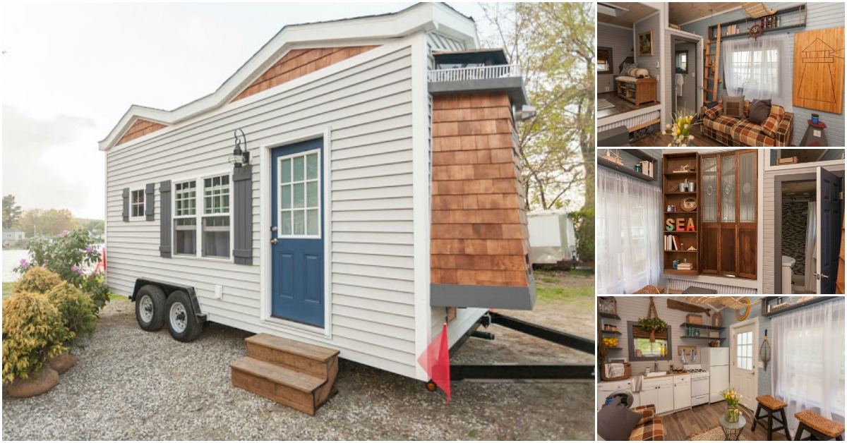 The tiny lighthouse makes cape cod living affordable for Cape cod tiny house