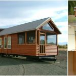 The Watson from Rich's Portable Cabins is Ready to Relax at the Park