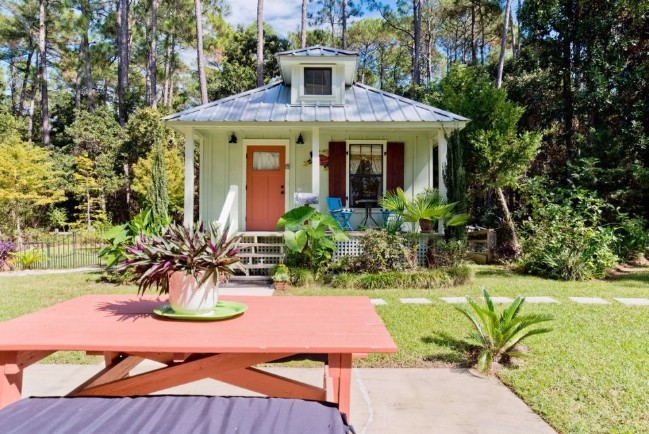 Rent this Tiny Cottage in The South's Best Kept Secret Town