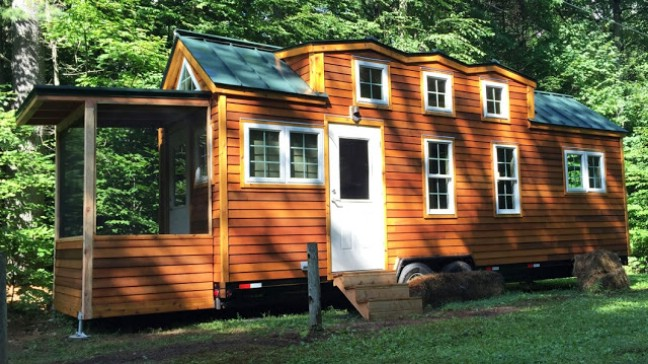 276sf Tiny House Built for a Not So Tiny 610 Retired
