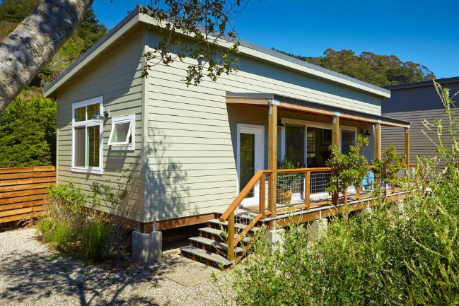 Simple California Tiny House Saves On Cost Without