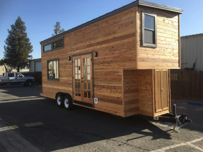tiny house contractors. California Tiny House Builder Creates Wooden Beauty On 24ft Trailer Contractors O
