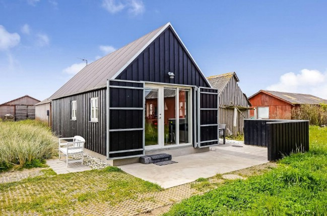 Danish Summer House Design: Danish Fisherman's Shed Converted Into An Incredible Tiny